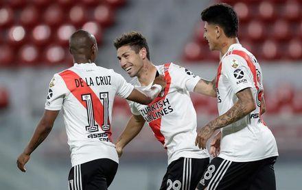 River golea a Defensores de Pronunciamiento por la Copa Argentina