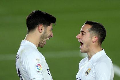 Carvajal y Lucas Vázquez, con buenas sensaciones; Hazard mejora con rapidez