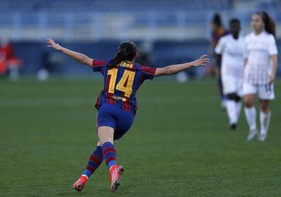 3-0. El Barcelona cumple los pronósticos y logra su séptima Copa de la Reina