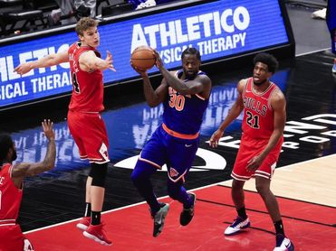 91-109. Randle y Knicks detienen racha perdedora