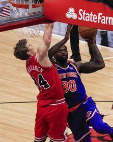 121-99. Randle y los Knicks siguen hundiendo a los Rockets