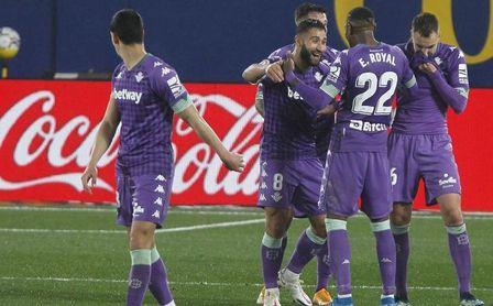 Villarreal-Real Betis (1-2): Si no de seis puntos, de cuatro por lo menos