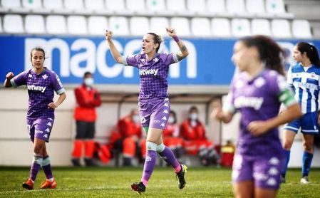 1-3. El Betis Féminas toma aire y pasa el 'farolillo rojo' al Deportivo