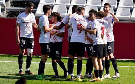 Sevilla Atlético 1-0 Córdoba: Nuevo zarpazo de 'Bam Bam' Romero para asaltar la tercera plaza