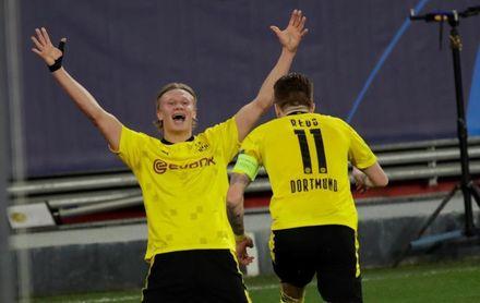 2-3. Haaland lidera al Dortmund para que dé el primer paso hacia cuartos