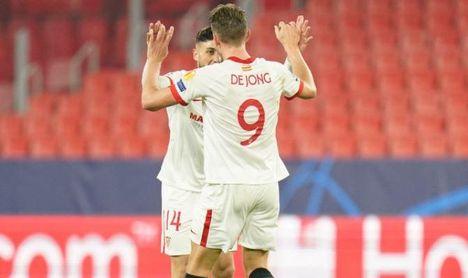"""De Jong: """"El segundo gol es importante; todo puede pasar en la vuelta"""""""