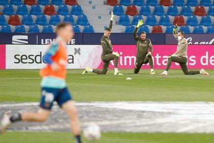 Roger-Morales, en el Levante; Suárez en el Atlético y Joao Félix a la espera