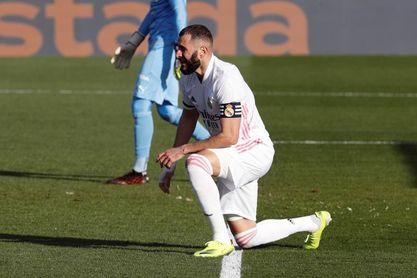 Benzema tiene pocas opciones de estar ante el Atalanta
