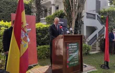 España y La Liga presentan el primer diccionario de fútbol árabe-español