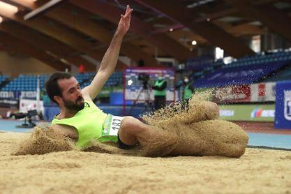 Eusebio Cáceres recupera el título de longitud con 7,91