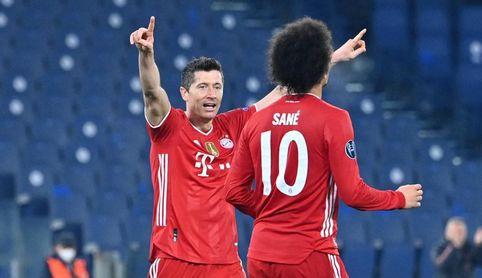 1-4. El Bayern vuelve en plan apisonadora.