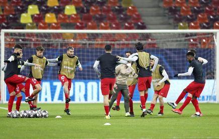 Joao Félix, Suárez y Correa, en el once del Atlético