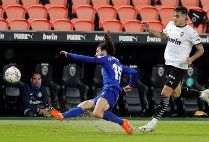 El Valencia ha ganado en la mitad de sus últimas visitas a Getafe