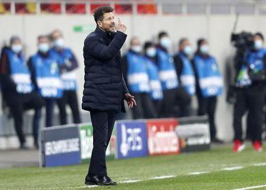 """Simeone: """"Entendíamos que el partido había que jugarlo como se vio"""""""
