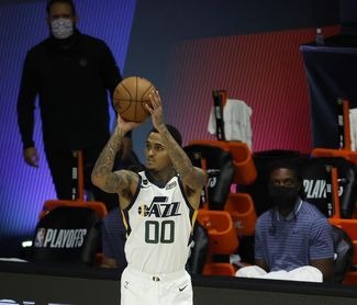 114-89: Los Jazz trituran a unos Lakers en caída libre