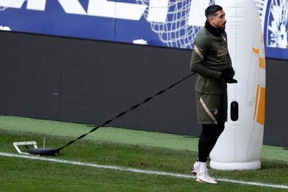 El Atlético recupera a Héctor Herrera, el último afectado por el coronavirus
