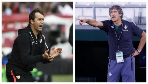 Pellegrini y Lopetegui, dos maestros en el mismo arte