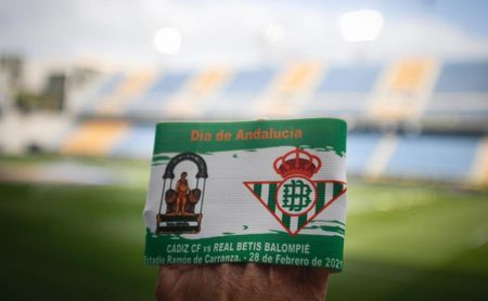 "Cádiz-Betis, en un 28-F: Guardado luce ""un detalle especial en un día especial"""
