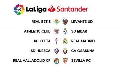 Betis y Sevilla ya conocen sus horarios ante Levante y Valladolid.