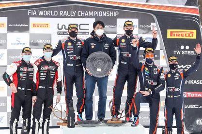 Kalle Rovanpera, de 20 años, el piloto más joven en liderar el Mundial