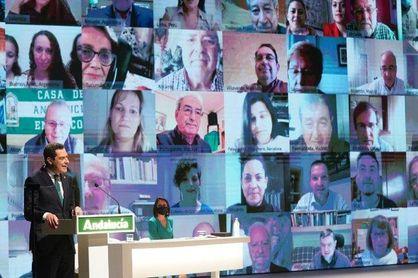 Entrega de las Medallas de Andalucía con los que ya no están en el recuerdo