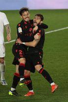 1-1. Vinicius salva el descalabro táctico de Zidane