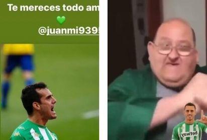 Hasta 'el Dandy de Barcelona' felicita a Juanmi