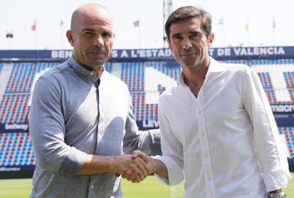 Paco López y Marcelino, un cara a cara con pasado común en tres equipos