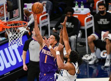 Booker, de los Suns, gana el premio de Jugador de la Semana en la Conferencia Oeste de la NBA