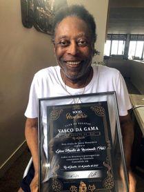 Pelé, nuevo socio honorífico del Vasco da Gama
