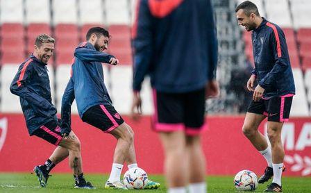 Tres bajas importantes en la lista del Sevilla para Elche.