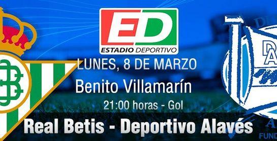 Real Betis-Alavés: Una oportunidad para ir asegurando el pasaporte