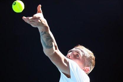 Daniel Evans, primer rival de Federer en su regreso