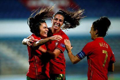 El fútbol femenino crece un 181 % en Portugal