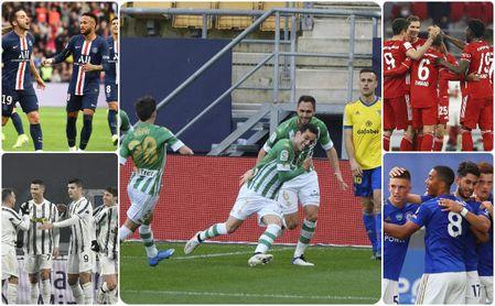 PSG, Leicester, Betis, Bayern, Juve... 'No se vayan todavía, que aún queda lo mejor'