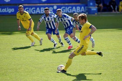 1-1. Dos penaltis, protagonistas en un cerrado partido