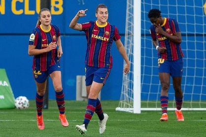 El Barça, la goleada que no cesa
