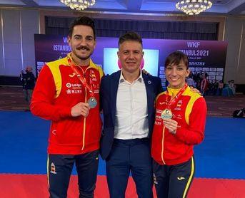 Damián Quintero y Sandra Sánchez, oro en Estambul.
