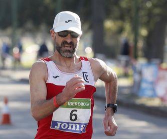 García Bragado bate el récord mundial M50 de 20 km marcha