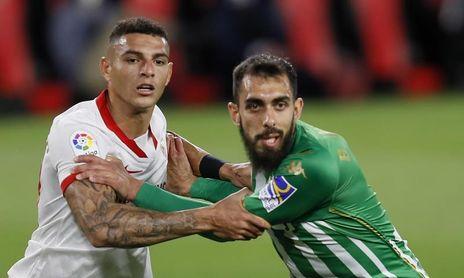 1-0. El Sevilla se lleva un derbi sin fútbol merced a un gol de En-Nesyri