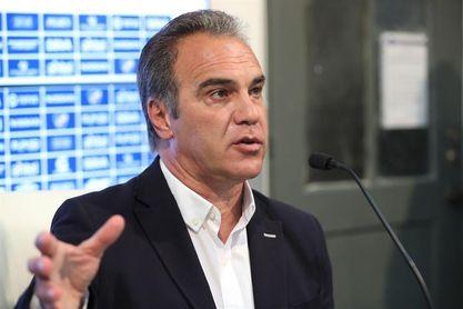 Lasarte cree que la suspensión de las fechas de eliminatoria le dará más tiempo de trabajo con Chile