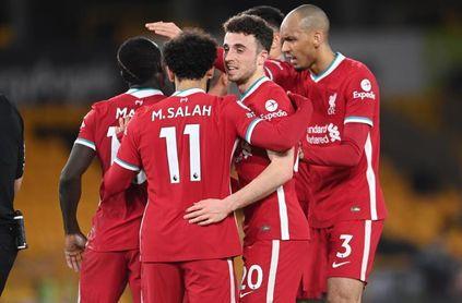 0-1. El Liverpool se reencuentra con la victoria