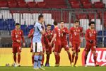 2-1. El Bayern pasa el trámite con goles de Lewandowski y Choupo Moting