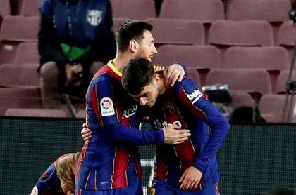"""Pedri: """"Jugar con Messi es fácil, le das el balón y pasan cosas"""""""