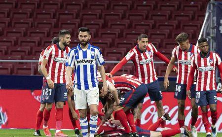 Simeone respira aliviado: de siete posibles bajas del Atlético ante el Sevilla a sólo una