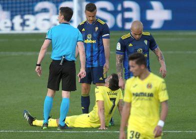 Gerard Moreno se lesiona, pero se hará las pruebas con la selección