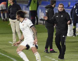 Osasuna regresa al trabajo con nueve futbolistas de campo