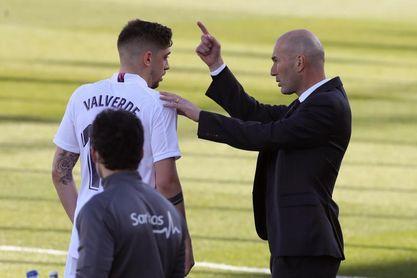 Fede Valverde no se entrena con el grupo por molestias musculares