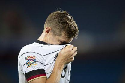 Toni Kroos, baja en la selección alemana con problemas de aductores