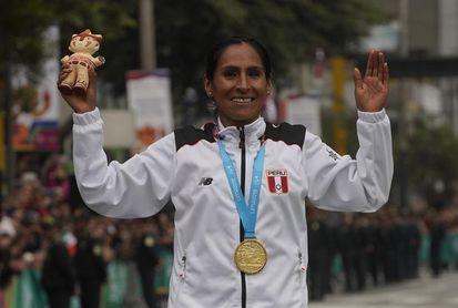 La maratonista Gladys Tejeda pide vacunas para la delegación olímpica de Perú